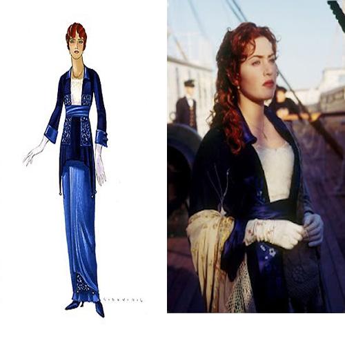 Kate Winslet Costumes Titanic