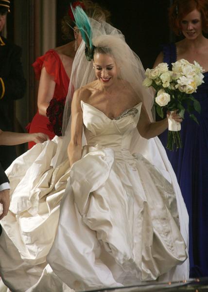 Sex in the city wedding dress pics 692